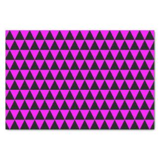 黒く、ピンクの三角形 薄葉紙