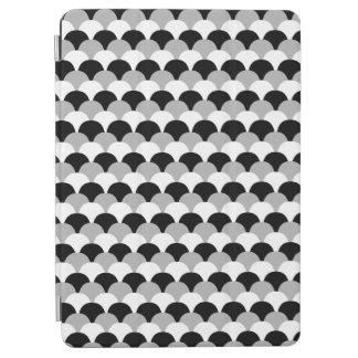 黒く、灰色および白いGumdropのデザインのiPadカバー iPad Air カバー