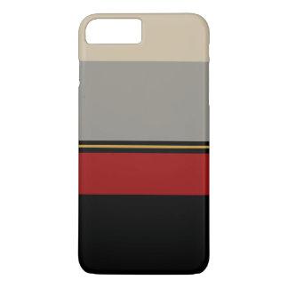 黒く、赤く、灰色および黄褐色の箱 iPhone 8 PLUS/7 PLUSケース