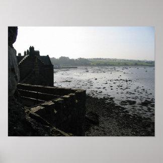 黒さの城、スコットランド ポスター