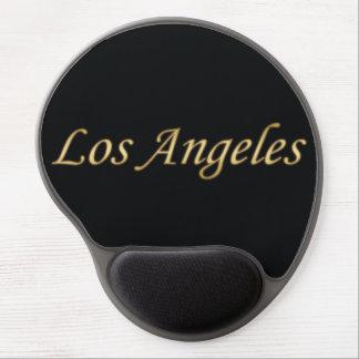 黒で金ロサンゼルス ジェルマウスパッド