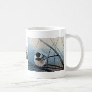 黒によっておおわれる《鳥》アメリカゴガラのマグ コーヒーマグカップ