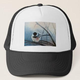 黒によっておおわれる《鳥》アメリカゴガラの帽子 キャップ