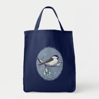 黒によっておおわれる《鳥》アメリカゴガラの楕円形の芸術 トートバッグ