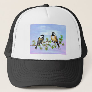黒によっておおわれる《鳥》アメリカゴガラ キャップ