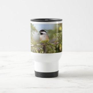 黒によっておおわれる《鳥》アメリカゴガラ トラベルマグ