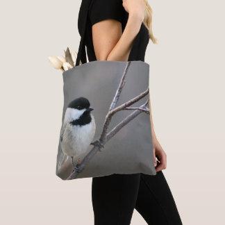 黒によっておおわれる《鳥》アメリカゴガラ トートバッグ
