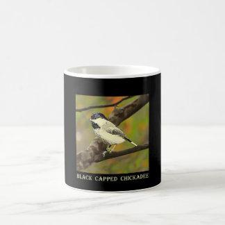 黒によっておおわれる《鳥》アメリカゴガラ(メインおよびマサチューセッツ) .j コーヒーマグカップ