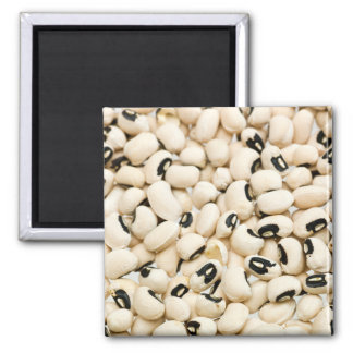 黒によって注目されるエンドウ豆 マグネット