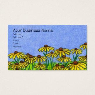 黒によってSusans注目されるFlowers~Businessカード 名刺