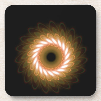 黒に対する渦巻の渦 コースター