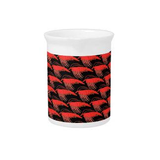 黒のオキアミパターン ピッチャー