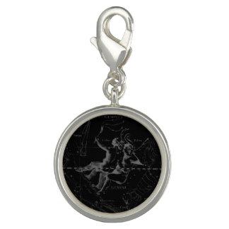 黒のジェミニ星座Hevelius 1690年 チャーム