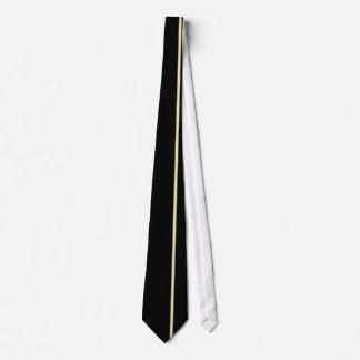 黒のバニラ薄い垂直線 カスタムタイ