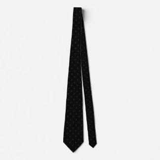 黒のバラのネクタイ ネックウェアー