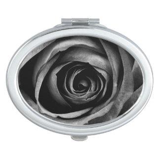 黒のバラの花の花の装飾的なヴィンテージ