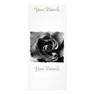 黒のバラ ラックカード