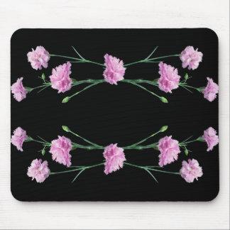 黒のピンク マウスパッド