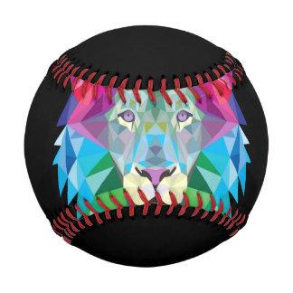 黒のライオンの頭部 野球ボール
