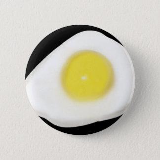 黒の卵焼き 缶バッジ
