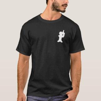 黒の平均ジョーの英雄の漫画のスタイル Tシャツ