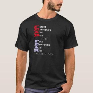黒の恐れ Tシャツ