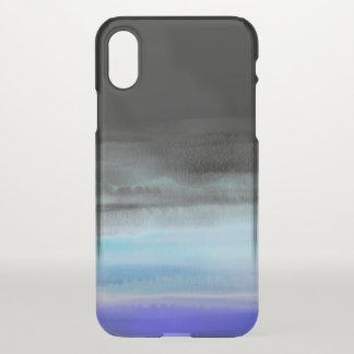 黒の水 iPhone X ケース