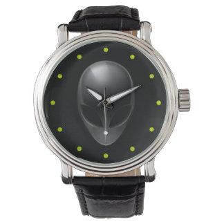黒の灰色 腕時計