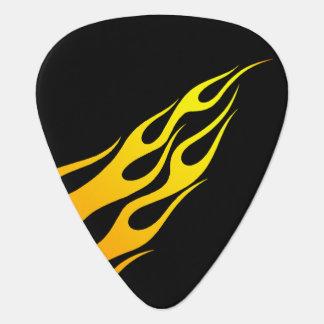黒の炎 ギターピック