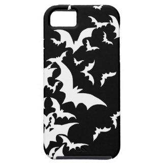 黒の白いこうもり iPhone SE/5/5s ケース