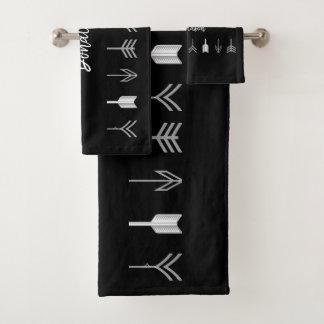 黒の種族の矢 バスタオルセット