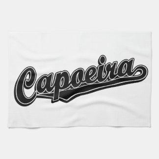 黒の空想のCapoeira キッチンタオル