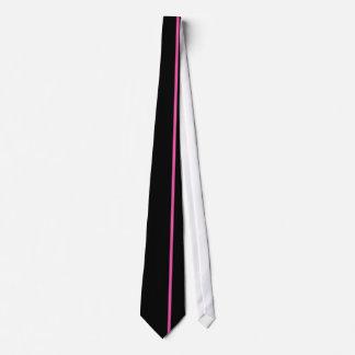 黒の華麗なバラの薄い垂直線 ネックウェアー