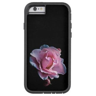 黒の豪華なピンクのバラ TOUGH XTREME iPhone 6 ケース