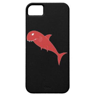 黒の赤い鮫 iPhone SE/5/5s ケース