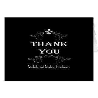 黒の(紋章の)フラ・ダ・リスクロール白は感謝していしています カード
