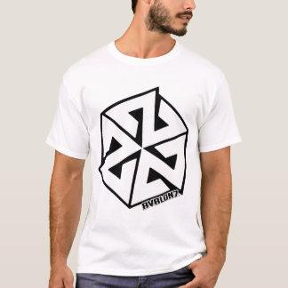 黒のInspiraconの白 Tシャツ
