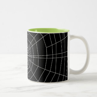 黒のspiderweb ツートーンマグカップ