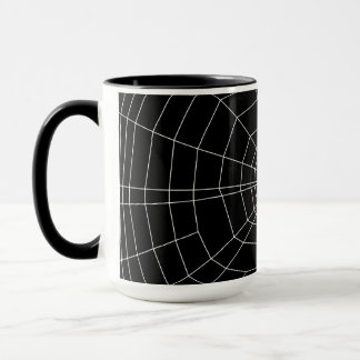 黒のspiderweb マグカップ