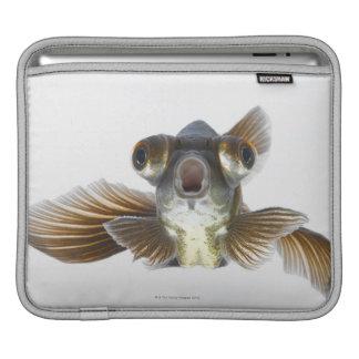 黒は繋ぎ止めます金魚(フナのauratus)を iPadスリーブ