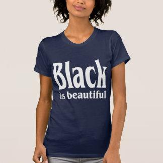 黒は美しいです Tシャツ