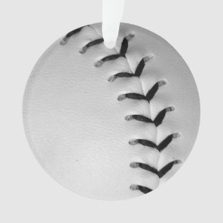 黒は野球/ソフトボールをステッチします