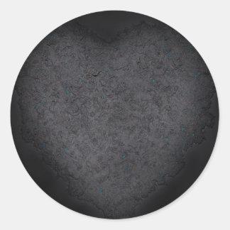 黒は黒いです ラウンドシール