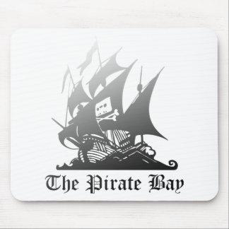 黒への海賊湾の灰色 マウスパッド