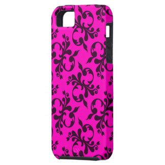 黒またはピンクのデザインの穹窖のVibeのiPhone 5/5S iPhone SE/5/5s ケース