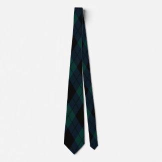 黒ダイヤのタータンチェックのタイ ネクタイ