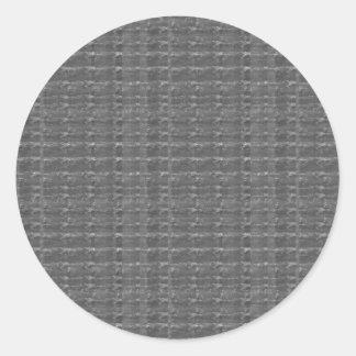 黒ダイヤの背景NVN290 BNWのギフトのおもしろい ラウンドシール