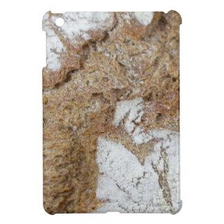 黒パンの表面のマクロ写真 iPad MINIケース