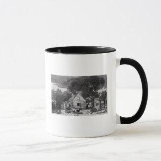 黒人の小屋 マグカップ
