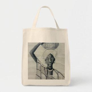 黒人女性 トートバッグ